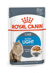 Консервы (пауч) для кошек склонных к полноте Royal Canin Ultra Light в соусе 85 г